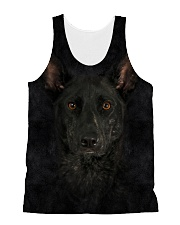 Dutch Shepherd-Face and Hair All-over Unisex Tank thumbnail