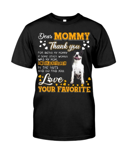 Dear Mommy-Boston Terrier