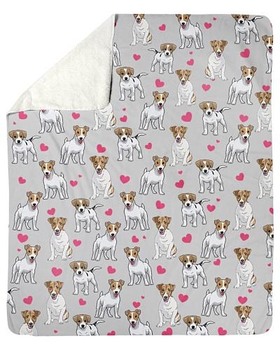 Jack Russell Terrier-Heart-Blk