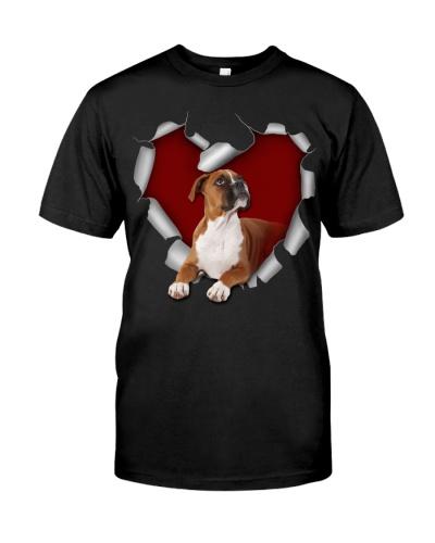 Boxer Torn Heart