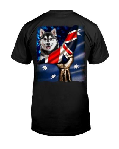 Flag of Australia-Husky