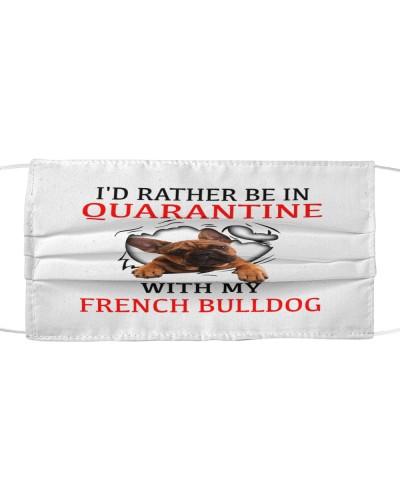 Quarantine With My French Bulldog Face