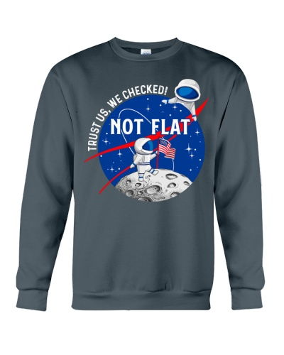 Trust Us We Checked Not Flat