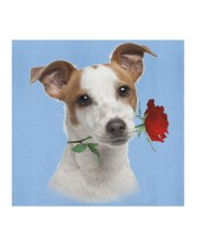 Jack Russell Terrier Rose FM Cloth face mask aos-face-mask-coverlet-lifestyle-front-02