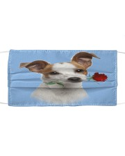 Jack Russell Terrier Rose FM Cloth face mask front