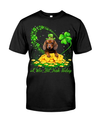 Dachshund 02-A Wee Bit Irish Today