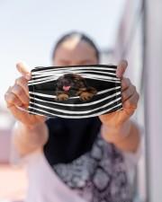 Leonberger Stripes FM Cloth face mask aos-face-mask-lifestyle-07