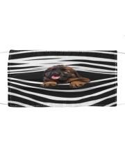 Leonberger Stripes FM Cloth face mask front
