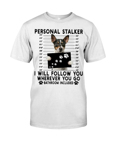 Jack Russell Terrier Funny Personal Stalker