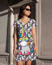 Unicorn - Pixel All-over Dress aos-dress-front-lifestyle-1