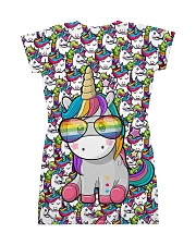 Unicorn - Pixel All-over Dress back