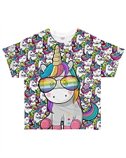Unicorn - Pixel All-over T-Shirt thumbnail