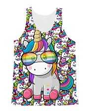 Unicorn - Pixel All-over Unisex Tank thumbnail