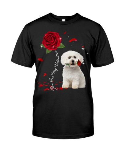 Maltese is My Valentine-Rose