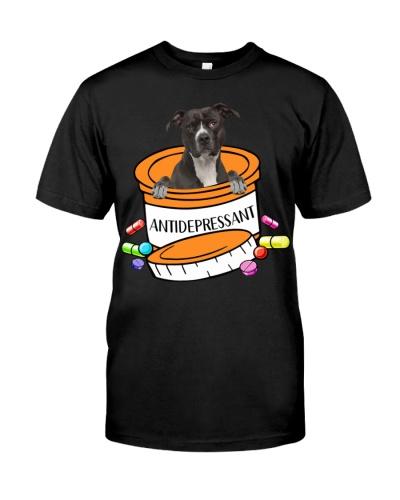 American Pit Bull Terrier-Antidepressant