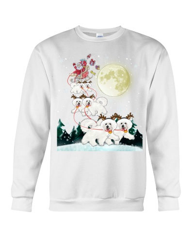 Bichon Frise-Santa Claus