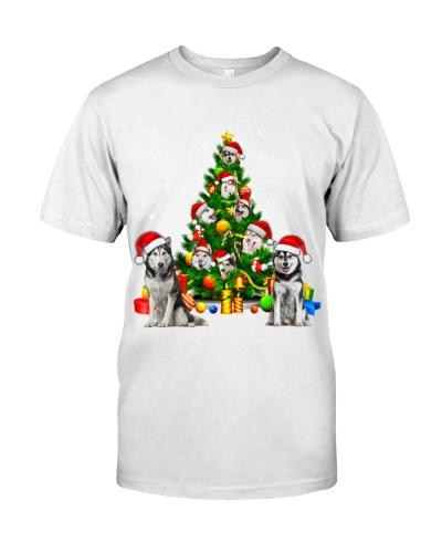Husky-Christmas Tree-1