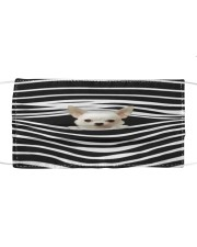 Chihuahua Stripes FM Cloth face mask front
