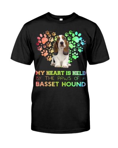 Basset Hound Heart Paw