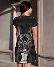 French Bulldog - Hair All-over Dress aos-dress-back-lifestyle-1