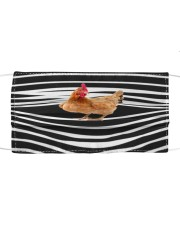 Chicken Stripes FM Cloth face mask front