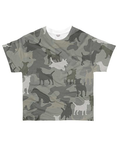 Jack Russell Terrier-camouflage