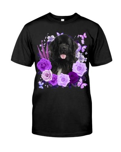 Newfoundland-Purple Flower