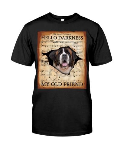 St Bernard Hello Darkness