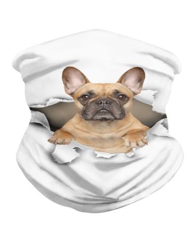 French Bulldog 1 Torn Paper BDN