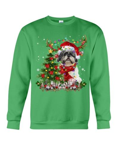 Shih Tzu-Reindeer-Christmas