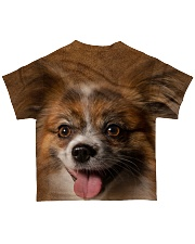 Papillon-Face and Hair All-over T-Shirt back