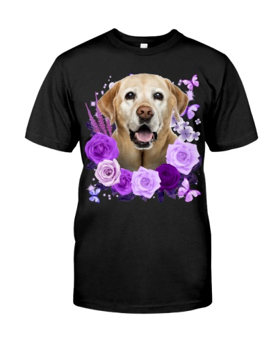 Labrador-Yellow-Purple Flower