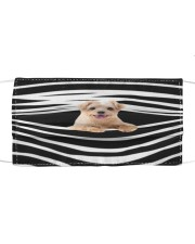 Norfolk Terrier Stripes FM Cloth face mask front