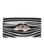 Australian Shepherd Stripes FM Cloth face mask front