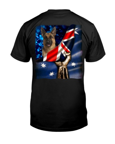 Flag of Australia-German Shepherd