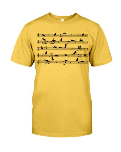 Sheet Music Cat