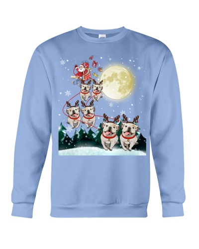 Bulldog-Santa Claus