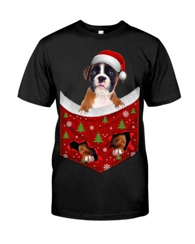 Boxer-Christmas Pocket