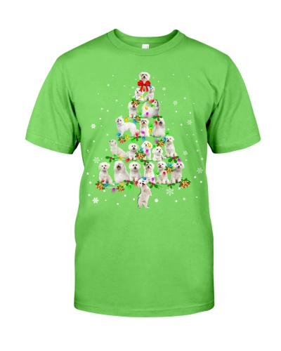 Maltese - Christmas Tree