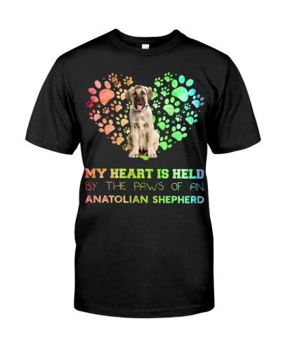 Anatolian Shepherd Heart Paw