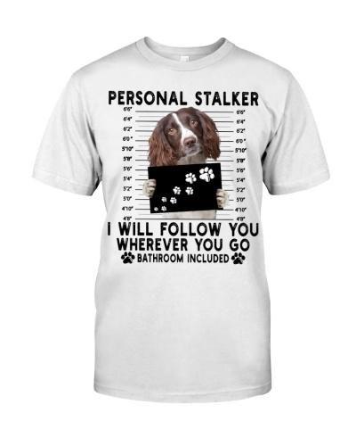 English Springer Spaniel Funny Personal Stalker