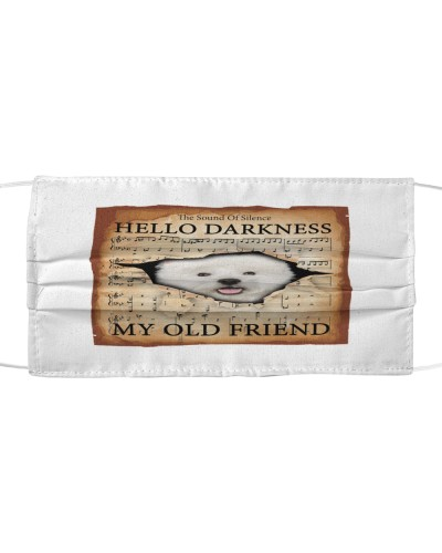 West Highland White Terrier Hello Darkness Face