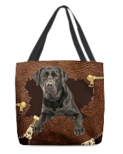 Labrador-Black-NT056-Handbag All-over Tote front