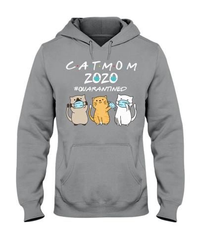 Cat Mom 2020 With Three Cats