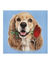 Cocker Spaniel Rose FM Cloth face mask aos-face-mask-coverlet-lifestyle-front-02