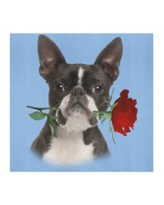 Boston Terrier Rose FM Cloth face mask aos-face-mask-coverlet-lifestyle-front-02