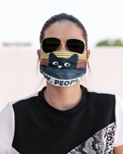 Black Cat Ew People FM Cloth face mask aos-face-mask-lifestyle-02
