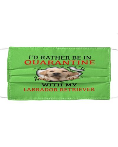 Quarantine With My Labrador Retriever Face