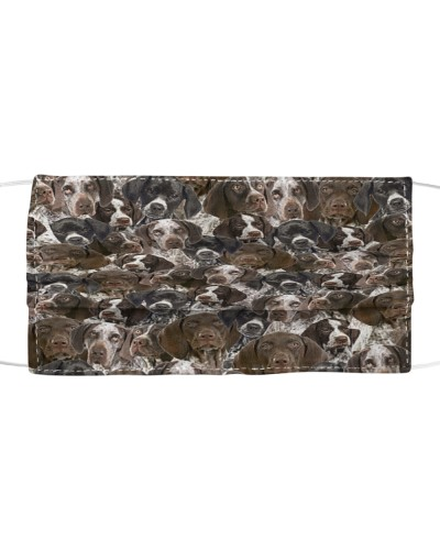 German Shorthaired Pointer FM Face