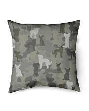 """Chinese Crested Hairless-camouflage Indoor Pillow - 16"""" x 16"""" thumbnail"""